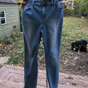 Chico's Stretch Blue Jeans size 0.5/6